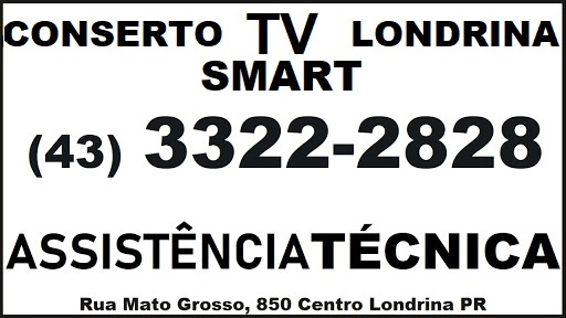 CONSERTO TV SMART LONDRINA